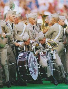 Fighting Texas Aggie Band Love these guys! Fun times with BQs! Whoop!