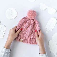 What's better than a free hat pattern? 12 free hat patterns, of course! This year we're releasing a new, free hat design on the Tuesday of each month made in Germantown. Knitting Patterns Free, Free Knitting, Stitch Patterns, Crochet Patterns, Hat Patterns, Knit Mittens, Knitted Hats, Knit Crochet, Crochet Hats