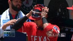 When one pair of sunglasses isn't enough for Robinson Chirinos…