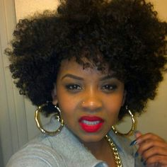 Pretty fro Follow BHI on Facebook & Twitter too!  http://www.facebook.com/blackhairinformation https://twitter.com/#!/BlackHairInfo