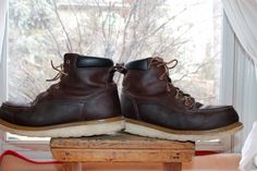 Red Wing Irish Setter Men's Crepe Sole Safety Toe Work Boot ASTM sz. 11 D #RedWing #WorkSafety