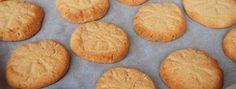 Domácí sušenky z arašídového másla