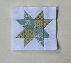 "Threadbare Creations: Piecing Smaller Blocks- Tutorial 3"" Star Block"