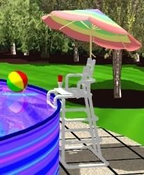 PoolSide Lifeguard Chair Project Plans - Easy to Build - DIY