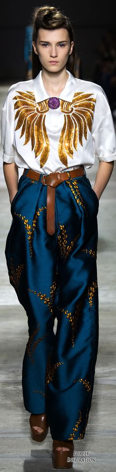Dries Van Noten SS2016 Women's Fashion RTW | Purely Inspiration
