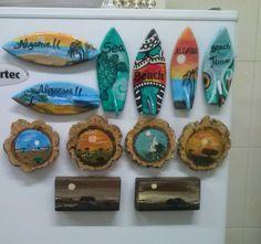 pins de frigorifico feitos por mim !