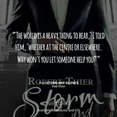 Storm and silence on wattpad. Amazing book.