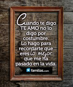 Frases / Amor www.familias.com