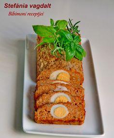 Stefánia vagdalt | Bibimoni Receptjei Pork, Vegetables, Recipes, Hungary, Kale Stir Fry, Recipies, Vegetable Recipes, Ripped Recipes, Pork Chops