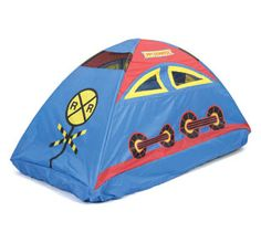 Dream Land Express Train Bed Tent  sc 1 st  Pinterest & Kidu0027s Race Car Bed Tent Twin Size Multi-Color Boy Girl Sleeping ...