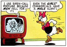 "Even Daisy knew it better, back in the day. ""A Sticky Situation"" (1960) by Carl Barks"