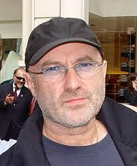 lefty musician Phil Collins, happy birthday