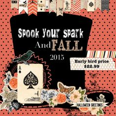Spook your Spark and Fall Workshop