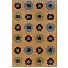 $170, Adana Berber Brown Rug (7'9 x 9'9) | Overstock.com