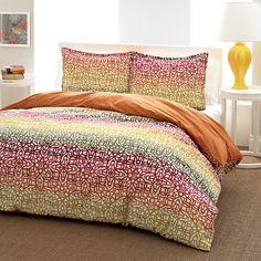 City Scene Fiesta Stripe Duvet and Comforter Sets