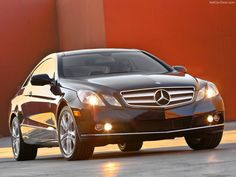 Mercedes E350 Coupe - Front Angle, 2010, 800x600, 1 of 16