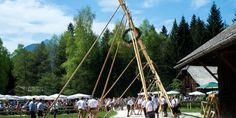 Traditional Maypole Celebrations Salzburg, Hotels, Celebrations, Fair Grounds, Traditional, Travel, Tourism, City, Viajes