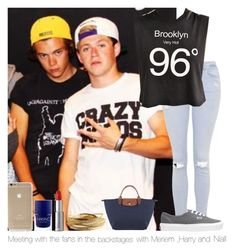 """""""Meeting fans in the backstages with Meriem,Harry and Niall"""" by hazzgirl03 ❤ liked on Polyvore featuring beauty, Topshop, Truly Madly Deeply, Vans, Longchamp, YooLa and Givenchy"""