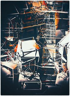 SCAFFOLDING by atelier olschinsky , via Behance