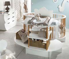 Déco chambre bébé - Une forme très originale pour ce lit !