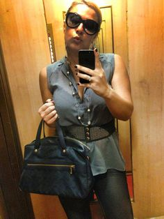 ilovebluejeans. Sunglasses Marc Jacobs, Guess belt, skinnyjeans tokidoki.