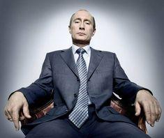 V.V. Putin, by Platon.