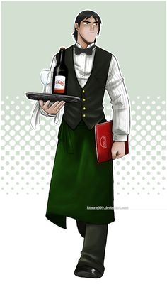 Kevin Levin, the waiter