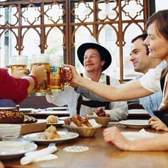 Oktoberfest Menu - Celebrate Bavarian style, with a hearty German feast -- and plenty of beer