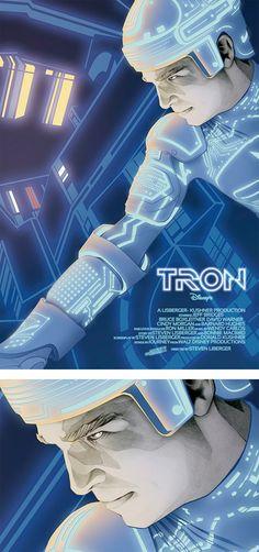 Sci-fi Movie Posters by Dani Blázquez | Inspiration Grid | Design Inspiration
