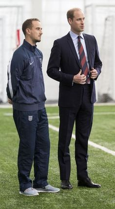 Prince William Photos - The Duke of Cambridge, President of the Football Association, meets the England Women team . - Zimbio