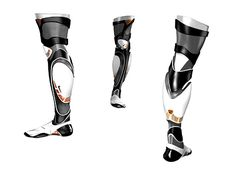 All The Cool Kids Wear Air Jordan Prosthetics | Yanko Design