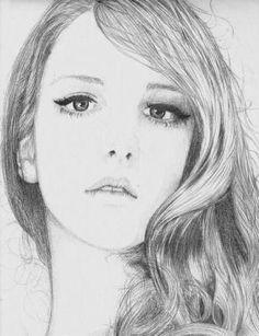 Resultado de imagen para rostros dibujo cara devaline  Dibujo a