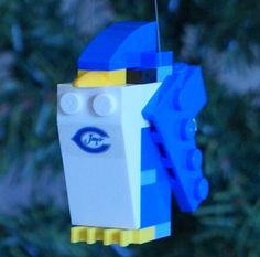 LEGO Creighton Bluejay Christmas Ornament by ornaments4charity, $16.00