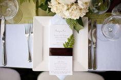 Menu Displays & Ideas Wedding Invitations Photos on WeddingWire