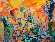 "Saatchi Art Artist Nestor Toro; Painting, ""The catch"" #art   (Lisa Woolf)"