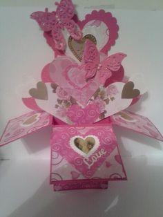 Cards in a box Valentine