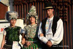 Tekov, Slovakia Folk Costume, Costumes, Handkerchiefs, Popular, Captain Hat, Culture, Hats, Fashion, Moda