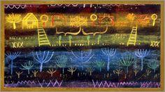 Paul Klee - Garten in der Ebene