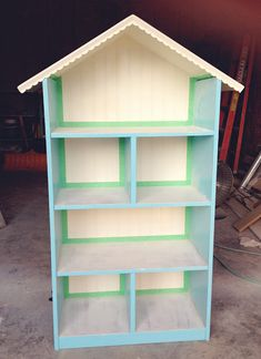 simple as that: Diy Dollhouse Bookshelf: Handmade Christmas Gift   Visit & Like our Facebook page! https://www.facebook.com/pages/Rustic-Farmhouse-Decor/636679889706127