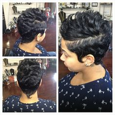 See this Instagram photo by @friendssalonnola • 157 likes Cute Hairstyles For Short Hair, Curly Hair Styles, Dope Hairstyles, Short Sassy Hair, Cute Haircuts, Short Pixie, Pixie Hairstyles, Natural Hair Styles, Amazing Hairstyles