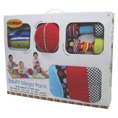 Edushape Edu-Fit Mega Pack - Fitness Center : Target Best Fitness Programs, Mini Gym, Toddler Christmas Gifts, Xmas Gifts, Toddler Girl Gifts, Toddler Toys, Learning Toys For Toddlers, Mega Pack, Developmental Toys