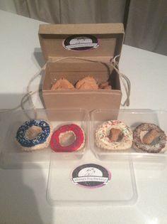 Doggie Donuts and Cookies www.facebook.com.au/daisysdogbarkery