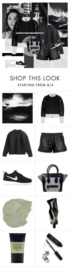 """I'm a lover and I'm a sinner."" by e-laysian ❤ liked on Polyvore featuring Sukie, Eleanor Long, Fendi, H&M, Love Leather, NIKE, CÉLINE, Aesop, Smashbox and Bobbi Brown Cosmetics"