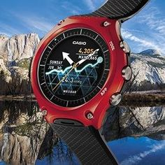 d090afd6fc9 Relogio Casio Wsd-f10 Smart Outdoor Watch - R  3.290