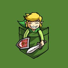HAPPY POCKET LINK by Purrdemonium - Get Free Worldwide Shipping! This neat design is available on comfy T-shirt (including oversized shirts up to 6XL ladies fit and kids shirts), sweatshirts, hoodies, phone cases, and more. Free worldwide shipping available.