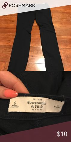 Navy blue Abercrombie and Fitch jeggings Navy blue Abercrombie and Fitch jeggings Abercrombie & Fitch Pants Leggings