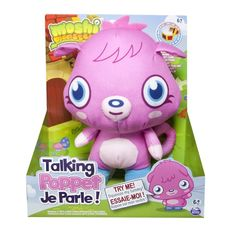 "Moshi Monsters Poppet Talking Stuffed Plush Toy Pink 8"" + Secret Code NEW Boxed #Moshi"