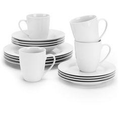 10 Strawberry Street Simply White Round 16-Piece Dinnerware Set - $20 - X2