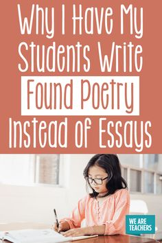 How I Use Found Poetry in the Classroom - WeAreTeachers