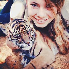 """8 Times Bindi Irwin Was Wise Beyond Her Years   ON LOVE   """"I think that love and loyalty are reflected in each other.""""– Twitter, June 2015"""